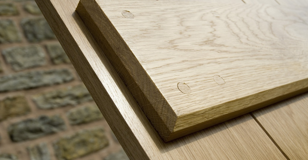 4 Ledge Solid Oak Doors Ledge