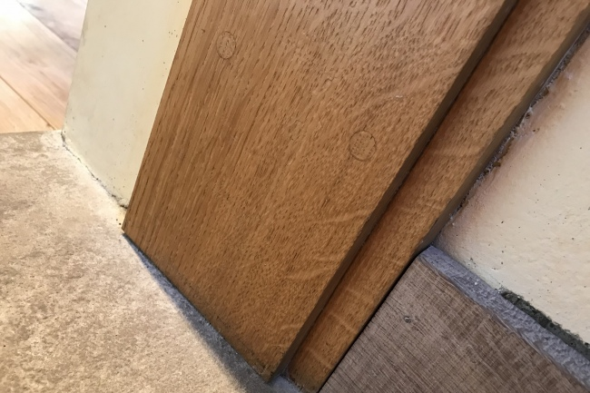 Rebated Oak Door Frame Base