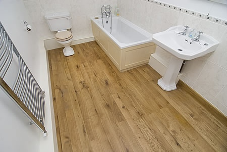 Wood Flooring Blog - Engineered Oak Flooring For Bathrooms - Peak Oak