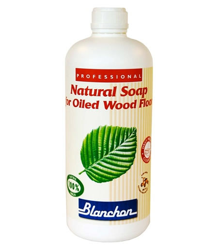 Blanchon Natural Soap for Oiled Wood Floors