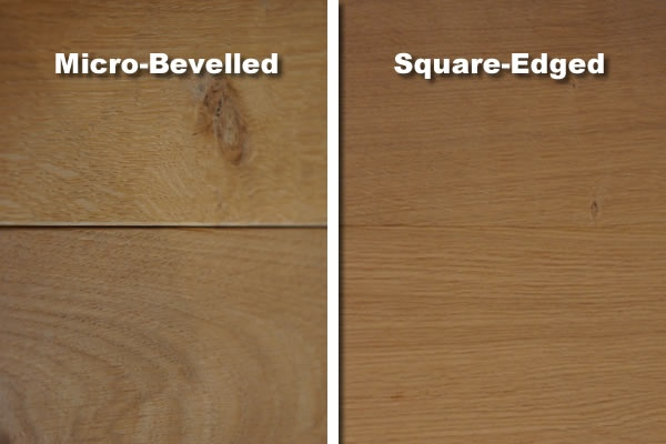 how to create beveled edge wood