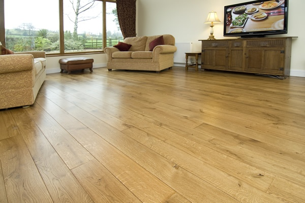 Oak Flooring Living Room