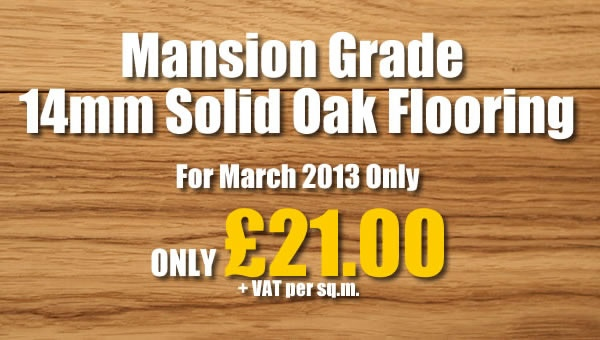 March 2013 Special Offer
