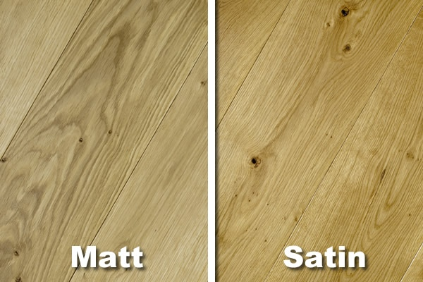 Wood flooring blog what is the difference between a for Floor varnish matt