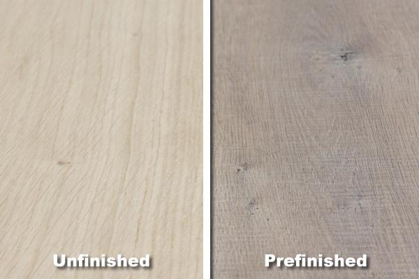 Prefinished/Unfinished