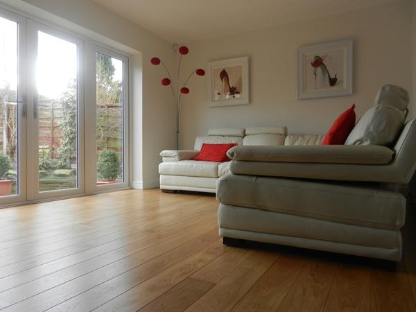Select Grade Oak Flooring