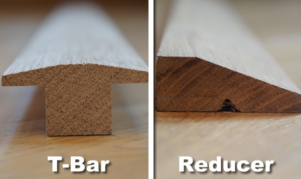 Wood Flooring Blog - Solid Oak T-Bar and Reducer Thresholds Now Available! - Peak Oak