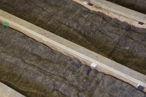 Sheeps Wool Insulation Joists