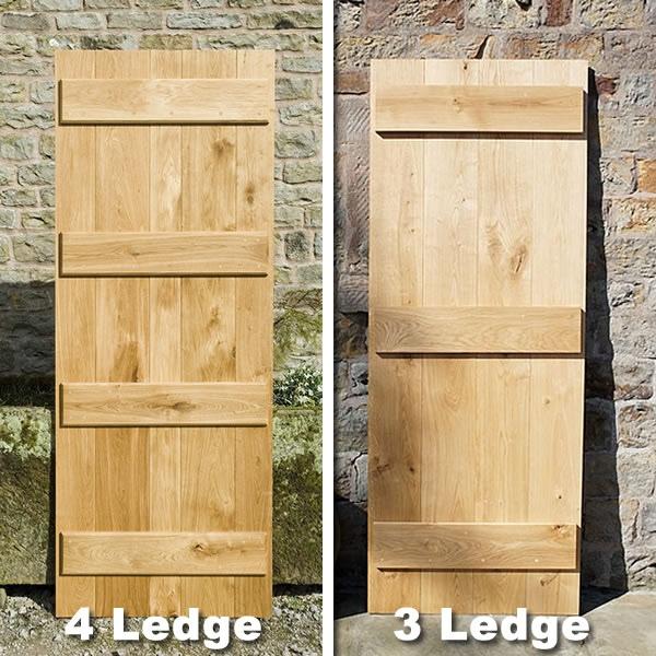 Ledged Doors & Wood Flooring Blog - 3 Ledge Or 4 Ledge Solid Oak Doors? - Peak Oak