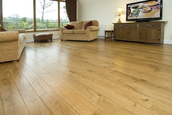 Engineered Oak Flooring Room