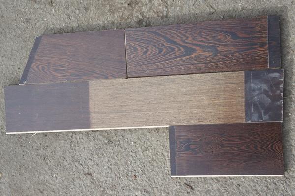 Removed Engineered Oak Flooring