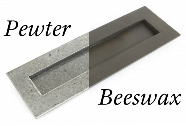 Beeswax & Pewter Finish
