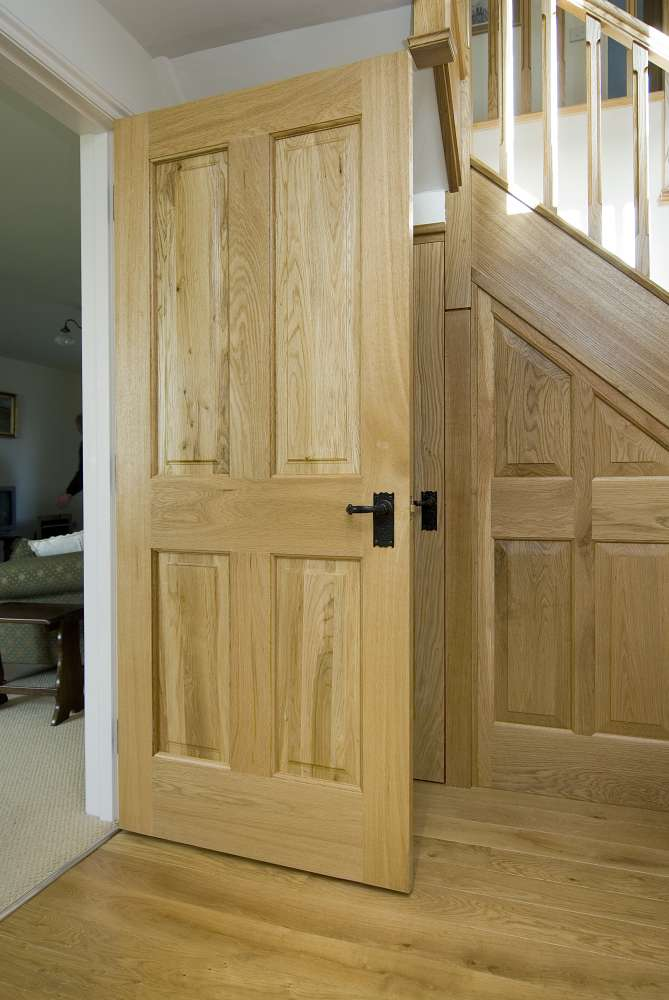 Oak Door Kitchen 2. larger view & Oak Doors - Peak Oak