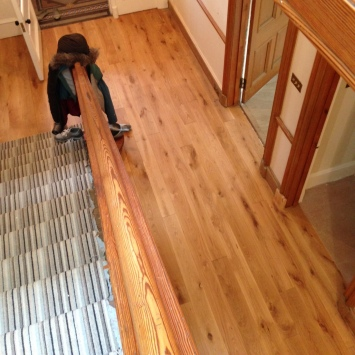140mm Prefinished Character Grade Solid Oak Flooring 2