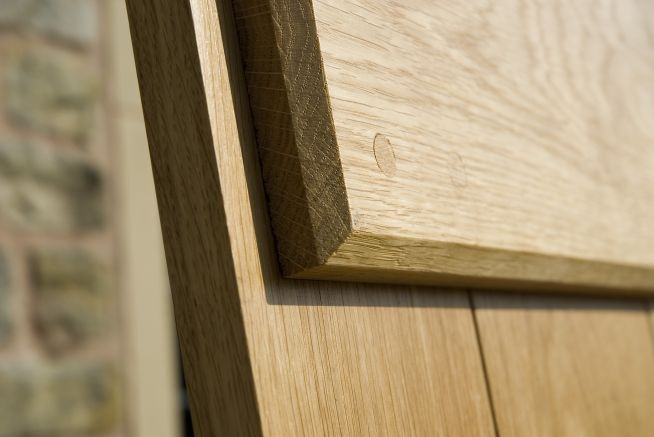 4 Ledge Solid Oak Doors Ledge Detail