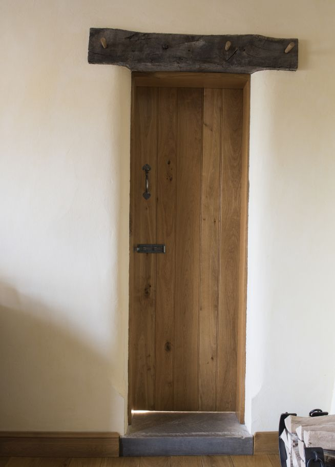 Ledge And Brace Doors Peak Oak