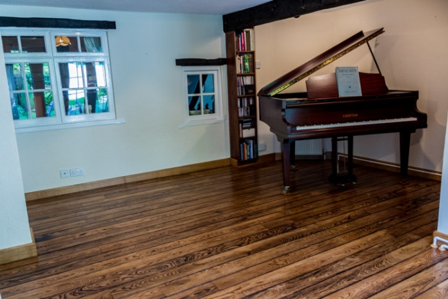 Distressed Oak Flooring - Colin Butterworth