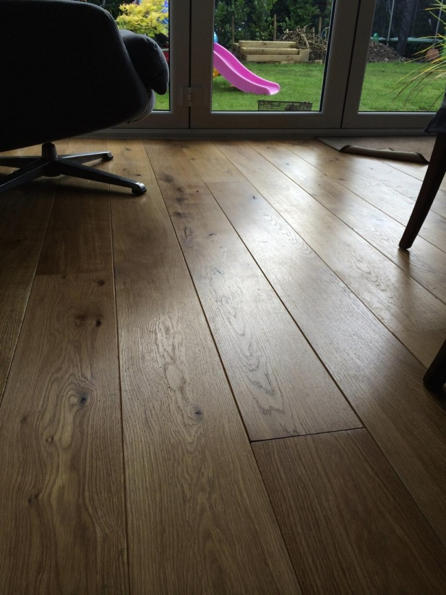 Character Grade 14mm Solid Oak Flooring