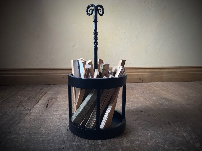 Rams Head Kindling Stand