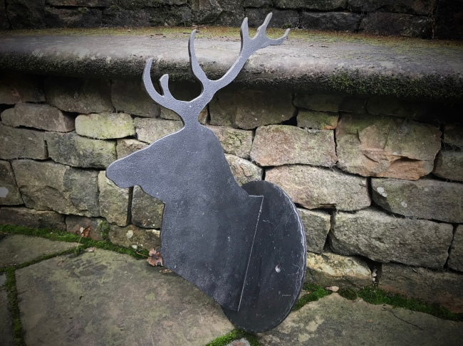 Stags Head Ornament