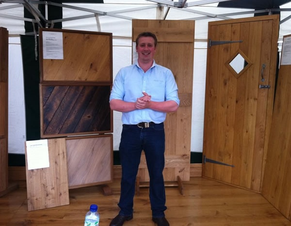 Tom at Cheshire Show 2011