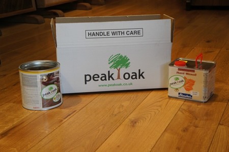 Peak Oak New Box/Stickers