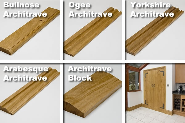 Oak Architrave Profiles