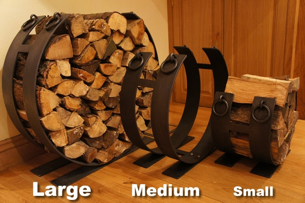 Log Ring Sizes