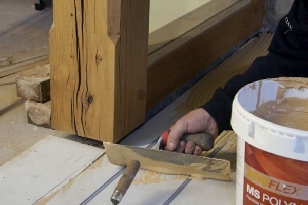Glueing Engineered Oak Flooring
