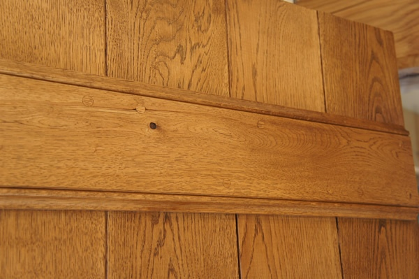 Oak Door Finish