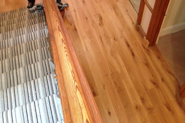 Prefinished Character Grade Solid Oak Flooring