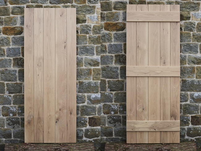 Shropshire Solid Oak Door Front And Back