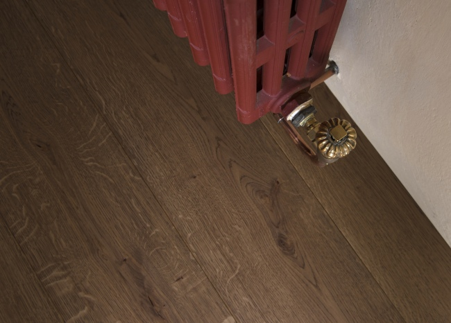 Engineered Oak Flooring - Radiator