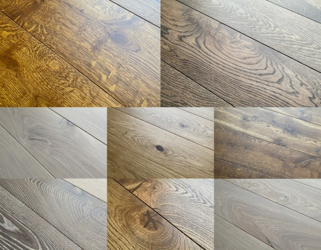 Prefinished Engineered Oak Flooring