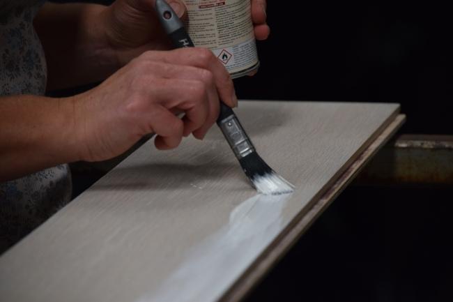 Blanchon Hard Waxoil - White Application
