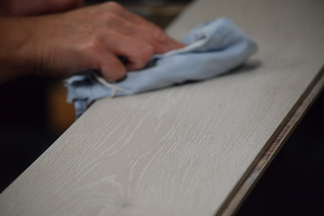 Blanchon Hard Waxoil White Buffing