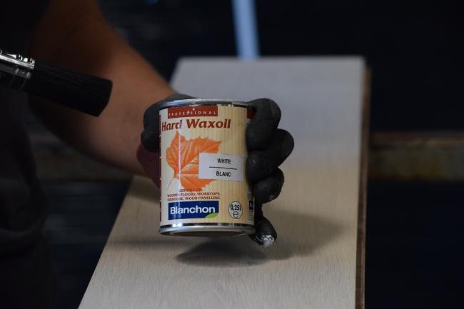 Blanchon Hard Waxoil - White Tin