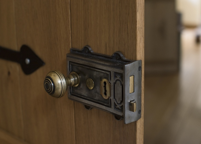 Rim Locks Latches Peak Oak