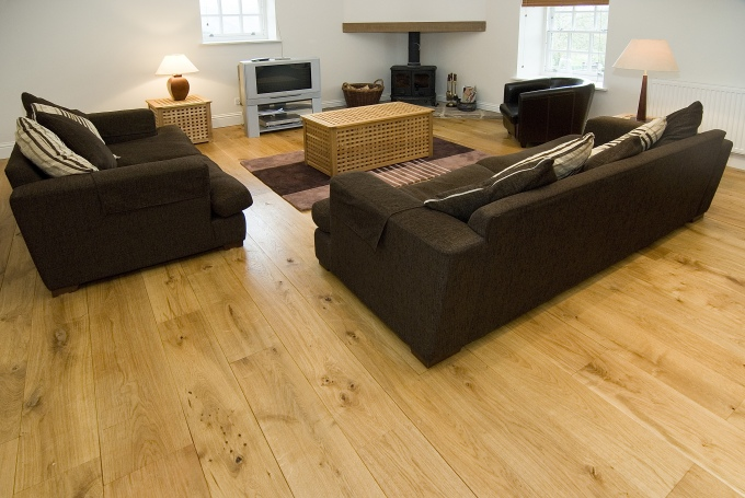 Peak Oak Character Grade Solid Oak Flooring 6