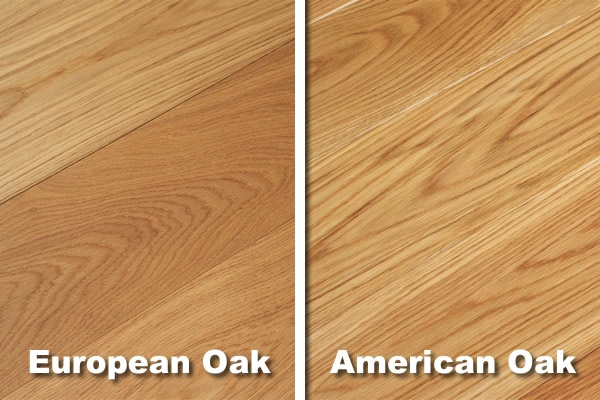 American & European Oak Differences