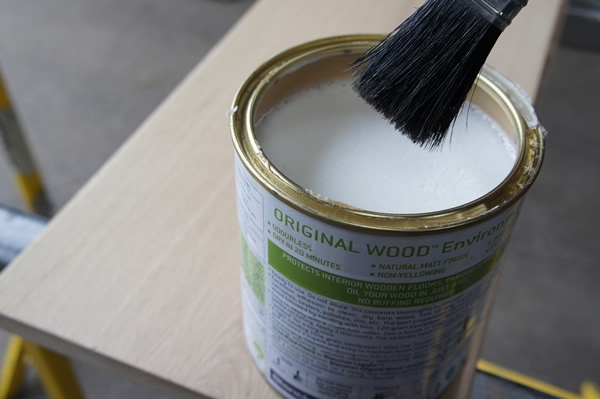 Application Of First Coat