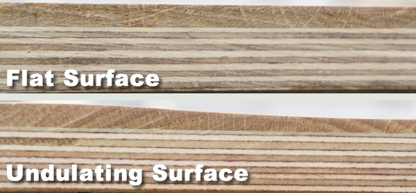 Flat & Undulating Surface
