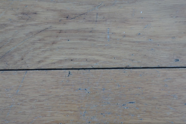 Poor Oak Flooring Finish