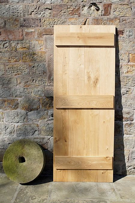 Yorkshire Solid Oak Door Back