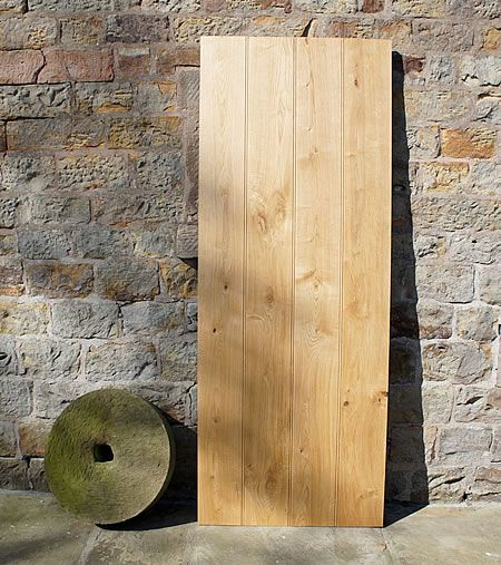 Yorkshire Solid Oak Door Front