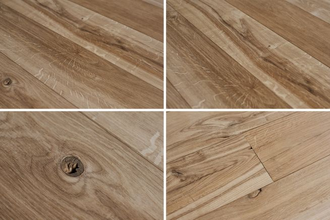 Brown Oak Flooring