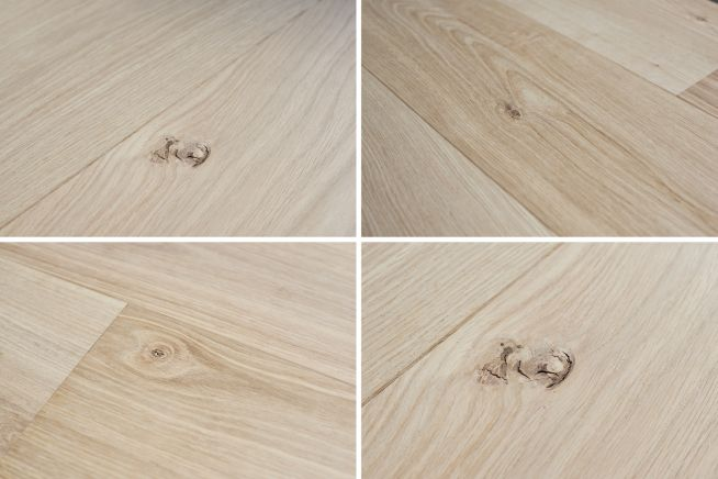 Unfinished Select Grade Oak Flooring